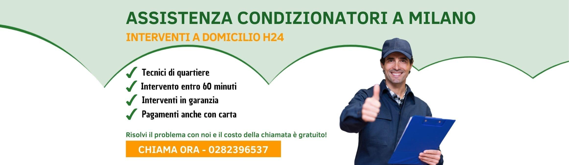 assistenza condizionatori Milano