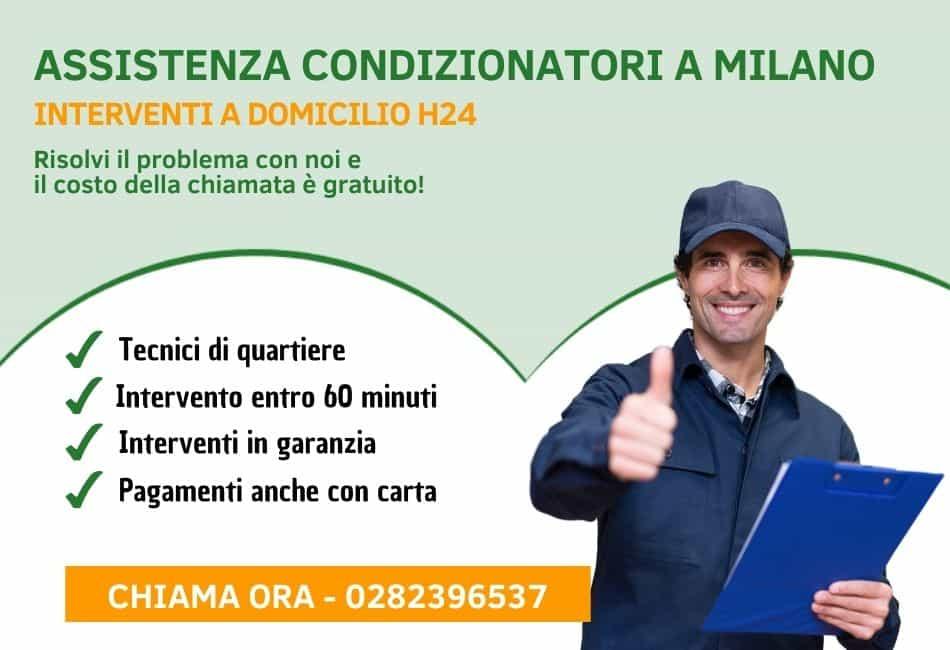 assistenza condizionatori Milano - slider